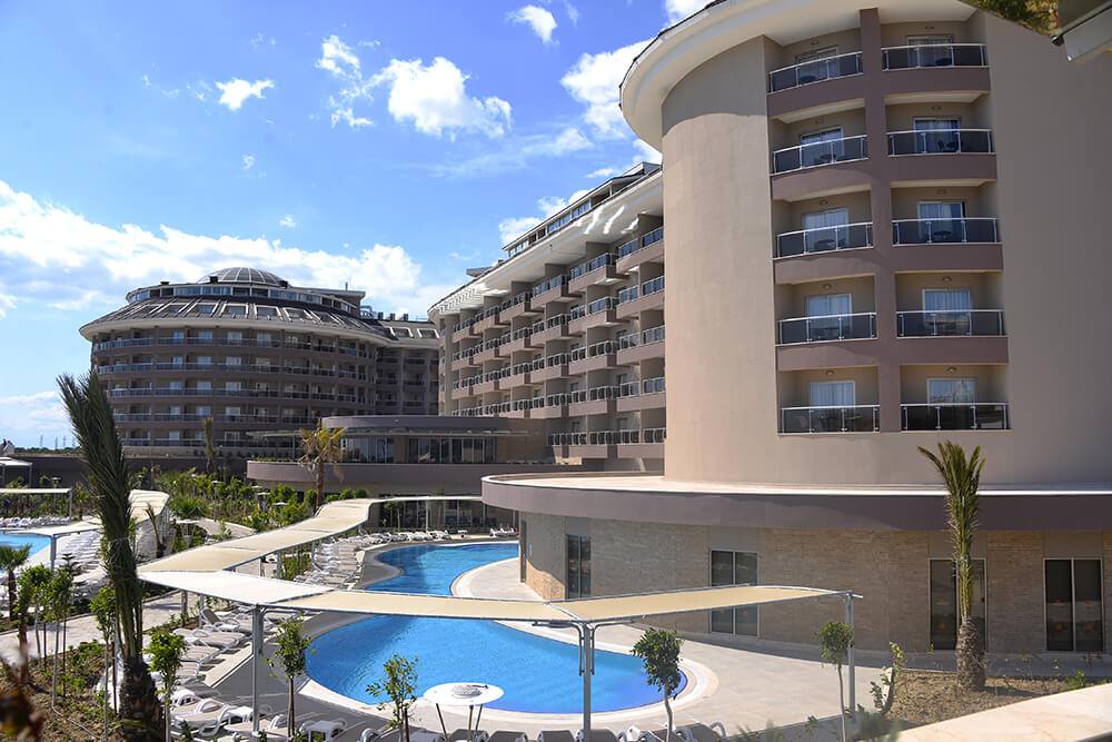Sunmelia Beach Resort Hotel & Spa 5* - Side  3