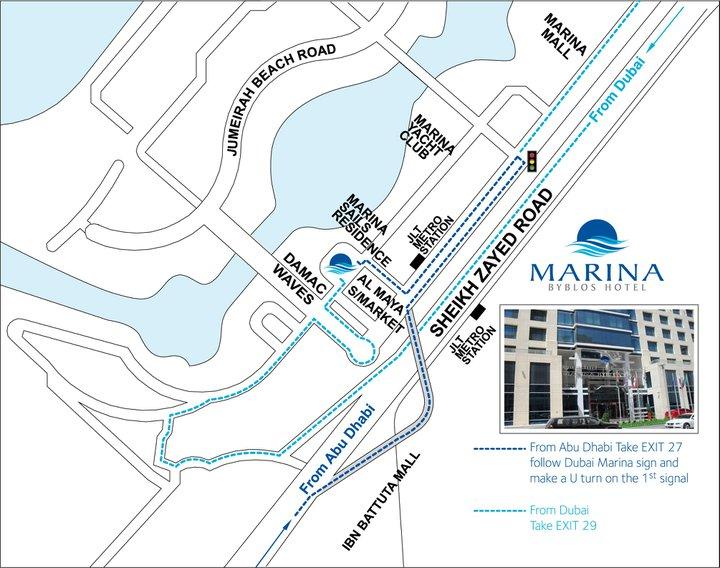 Hotel Marina Byblos 4* - Dubai 9