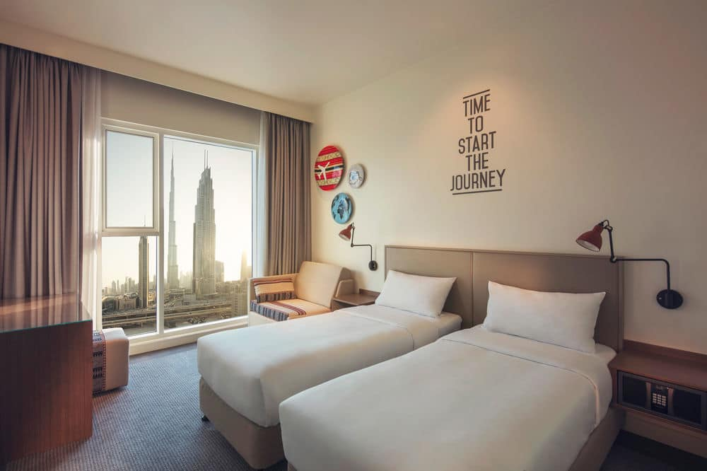 Hotel Rove Downtown 3* - Dubai 4
