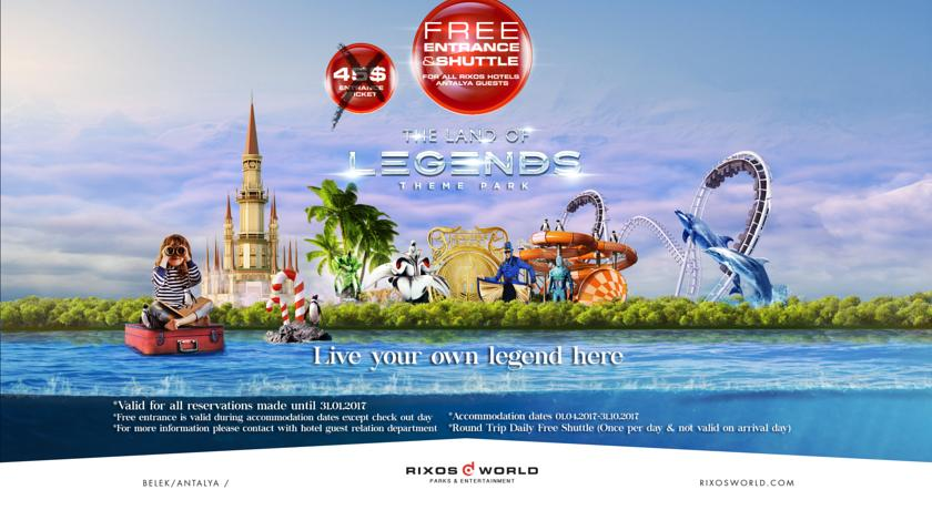 Hotel Rixos World The Land Of Legends 5* - Belek 21