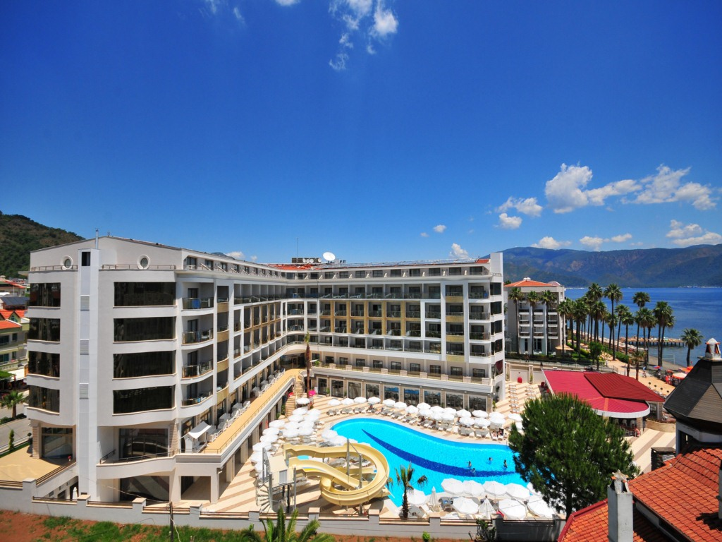 Oferta last minute hotel golden rock beach 5 marmaris for Last minute design hotel